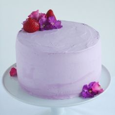 Strawberry Lavender Cake.  Click on cake and then click on cake again in next window to find recipe on Sweetapolita