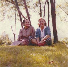 Karasz (left) and friend.