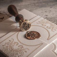 Beautiful stationery by Empress #weddinginvitation