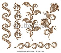 97491755 med Ornamental Seamless Borders Vector Set Abstract (royaltyfri)Stockvektor 97491755 med Ornamental Seamless Borders Vector Set Abstract (royaltyfri) Leren vector Pink and blue glittery pattern background vector Mehndi Art Designs, Doodle Designs, Doodle Patterns, Henna Patterns, Zentangle Patterns, Henna Kunst, Henna Doodle, Free Vector Clipart, Vector Vector