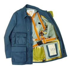 CP Company 24 Project View Jacket Shoulder Straps SS13