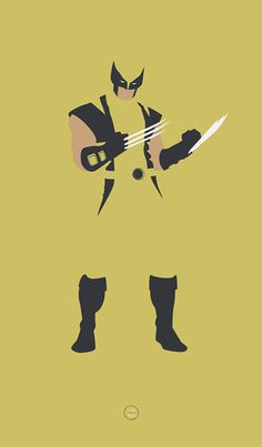 Fan posters for some of the greatest X-Men. Wolverine
