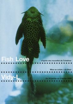 Fish Love - Vidy-L-Plakat by Werner Jeker
