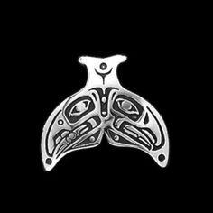 Lovebirds Whaletail Pendant