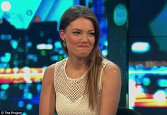 'Dowhill very quickly': Sam Frost hinted on The Project that things went downhill with Sacha Mielczarek following their steamy kiss on Wednesday night's episode of The Bachelorette