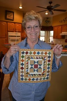 Patchalot More--little quilt by Marae Harris of Mesa, AZ