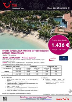 Oferta Especial Isla MAURICIO - Hotel Le Mauricia. Precio final desde 1.436€ - http://zocotours.com/oferta-especial-isla-mauricio-hotel-le-mauricia-precio-final-desde-1-436e/
