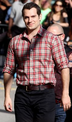 Henry Cavill Reads Fan Message Boards All the Time!: Photo Henry Cavill heads into the studio for an appearance on Jimmy Kimmel Live on Thursday (March in Hollywood. The actor, who is promoting his movie… Henry Cavill Superman, Henry Cavill News, My Superman, Batman, Adam Levine, Ryan Gosling, Christian Grey, Matt Bomer, Abc Studios