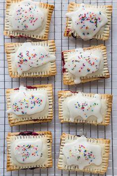 Homemade Berry Pop Tarts
