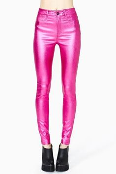 Disco Dreams Skinny Jeans by Lip Service Pretty Outfits, Cool Outfits, Pink Fashion, Fashion Outfits, Catty Noir, Disco Pants, Festival Outfits, Skinny Pants, Fashion Online