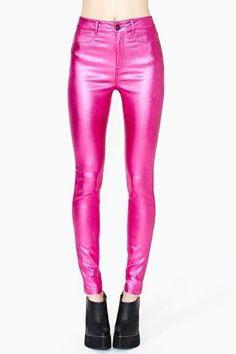 Disco Dreams Skinny Jeans by Lip Service