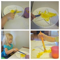 More Stars! {Preschool Shapes}- Star resources & ideas. After we were done, we used the puppets while singing Twinkle, Twinkle, Little Star.  The kids got a real kick out of it!