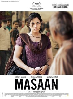 Poster Of Hindi Movie Masaan (2015) Free Download Full New Hindi Movie  Watch Online