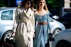 Renata Kharkova + Maria Kolosova | Milan via Le 21ème