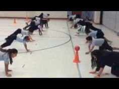 Physical Education Instant Activities for Upper body strength - YouTube Pe Games Elementary, Elementary Education, Education Games For Kids, Physical Education Middle School, Physical Activities, Health And Physical Education, Pe Activities, Educational Activities, Fitness Activities