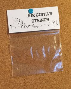 Novelty Gifts AIR GUITAR STRINGS: Improve your performance with the newly designed set of Air Guitar Strings. Get the crisp airy sound. Prank Gifts, Joke Gifts, Diy Gag Gifts, Easy Gifts, Silly Gifts, Funny Gifts, Funny Secret Santa Gifts, Random Gifts, Funny Presents