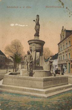 schönebeck elbe  | Schönebeck (Elbe), Sachsen-Anhalt: Marktbrunnen