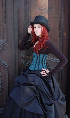 gothic #wedding dress - ✯ www.pinterest.com/wholoves/lingerie✯ #lingerie