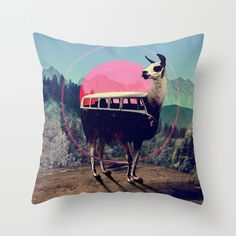 I'll be the first to tell anyone that I find throw pillows to be overall pretty useless but.. I can totally get into this throw pillow.