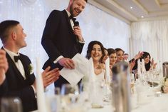Lovely image of our Groom giving his thank you speech at their wedding  Photography by Alex Zarodov Photography Wedding Gallery, Wedding Blog, Wedding Planner, Civil Ceremony, Wedding Ceremony, On Your Wedding Day, Perfect Wedding, Bride Speech, Wedding Brochure