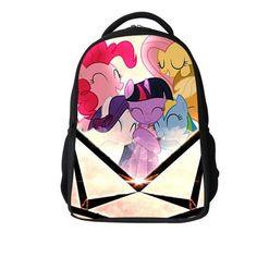 89ce64341c2b New design my little pony children backpacks for girls