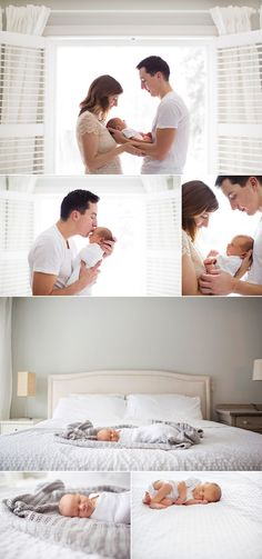 I know it's a newborn photography session, but I love the colors in this room!