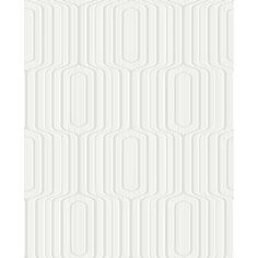 Retro Paintable White Blown Vinyl Wallpaper by SupaTex FD40008 £6.00