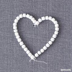 オートクチュールビーズ刺しゅう「プチハートのタックピン」の作り方|ぬくもり Bracelets, Jewelry, Jewlery, Jewerly, Schmuck, Jewels, Jewelery, Bracelet, Fine Jewelry