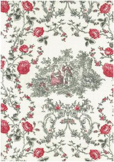 Visit our blog to read Michelle Marvig's latest entry, Toile Tales, to be inspired by the French & make your own little piece of France using the gorgeous vintage inspired Mas d'Ousvan fabrics.