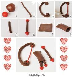 STEP BY STEP...cute cupcake topper for vday