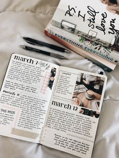 Image discovered by ❝ α в в y ❞. Find images and videos about school, study and college on We Heart It - the app to get lost in what you love. Bullet Journal And Diary, Bullet Journal Writing, Bullet Journal Aesthetic, Journal Diary, Journal Layout, My Journal, Bullet Journal Inspiration, Journal Pages, Journal Ideas