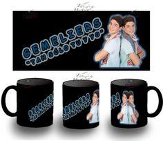 TAZA-NEGRA-GEMELIERS-ESPALDAS-BLACK-MUG-tazza-tasse-coupe-mug-taza-sur-canal