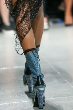 See detail photos for Rodarte Spring 2015 Ready-to-Wear collection.