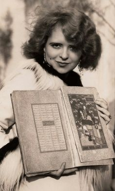 """Clara Bow, 1928  The amazing thing about her is that she had so many """"faces"""" so many looks and emotions . . . all of them beautiful.  She is the """"it"""" girl after all."""