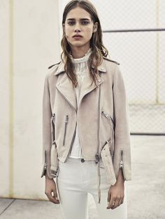 AllSaints Women's April Lookbook Look 1: Grace Jeans, Lolita Shirt