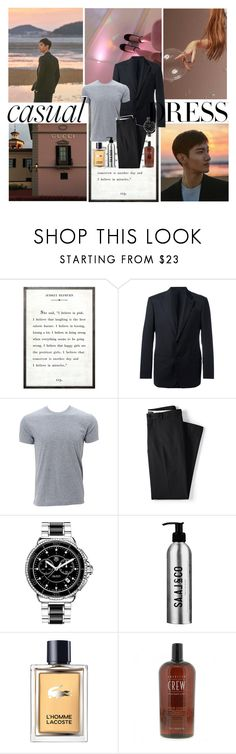 """""""nothing really matters: Changmin 'TVXQ'"""" by syifarhn ❤ liked on Polyvore featuring Armani Collezioni, Simplex Apparel, Lands' End, TAG Heuer, Lacoste, men's fashion, menswear, outfit, ootd and fashionset"""