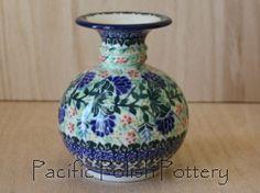 Unikat 2096 Polish Pottery Bubble Vase