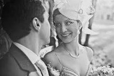 short vintage bridal veil - Google Search