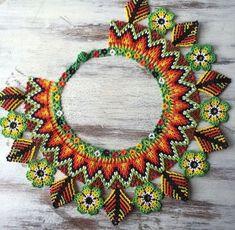 Bead Loom Patterns, Beaded Jewelry Patterns, Handmade Beads, Handmade Jewelry, Beaded Crafts, Native American Beading, Beading Tutorials, Loom Beading, Beaded Flowers