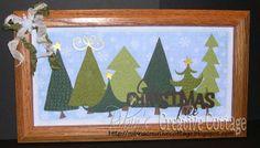 Cricut Christmas Vinyl Projects | ... Cottage: Oh Christmas Trees -using Christmas Cheer Cricut Cartridge