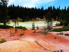 Boiling Springs Lake - California's Astonishing Volcanic Park: Lassen Volcanic