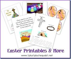 Round up of Easter related homeschool ideas and crafts!