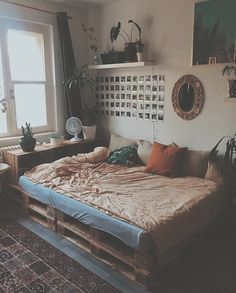 33 Awesome College Bedroom Decor Ideas and Remodel - 33 Bedroom Design Ideas - College Bedroom Decor, Dorm Room, College Bedrooms, College Room, Aesthetic Room Decor, Cozy Aesthetic, Summer Aesthetic, Aesthetic Grunge, Dream Rooms