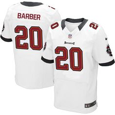 ... Men Nike Tampa Bay Buccaneers 20 Ronde Barber Elite White NFL Jersey  Sale ... 1dd049f30