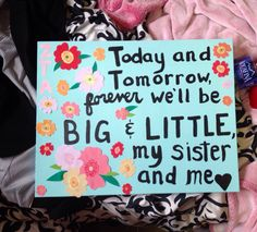 Sorority crafts big little #zta