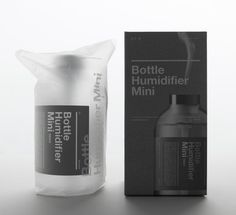 11+ Bottle Humidifier Mini is a beautifully harmonious fusion of precision engineering with the prestige of 11+ design aesthetics. Everything down to the aluminum cap is meticulously refined to ensure