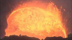 underwater volcanoes erupting lava - Google Search
