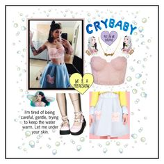 """""""Dollhouse"""" by caitlindaniellejohnson on Polyvore featuring Demonia and statementnecklaces"""