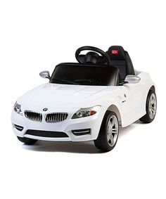 Love this White BMW Z-4 Ride-On by Best Ride On Cars on #zulily! #zulilyfinds