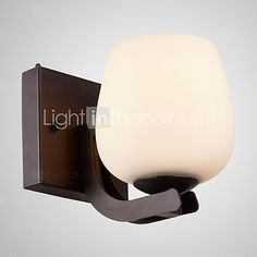SL® Iron Wall Lamp with Glass Shade Classic/Modern Lighting Wall Sconces - SEK kr496